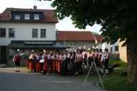 Serenade in Pürgen am 30.06.2013